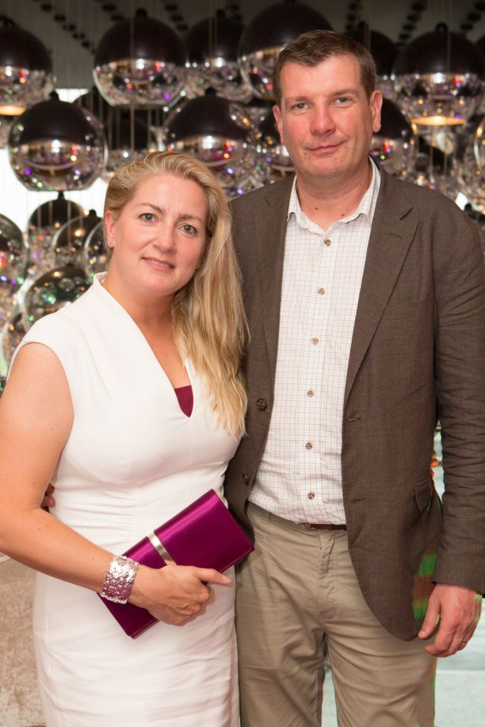 Claire and Alan Waters at the Ladies Day After Party in the g Hotel & Spa. Photo: Martina Regan