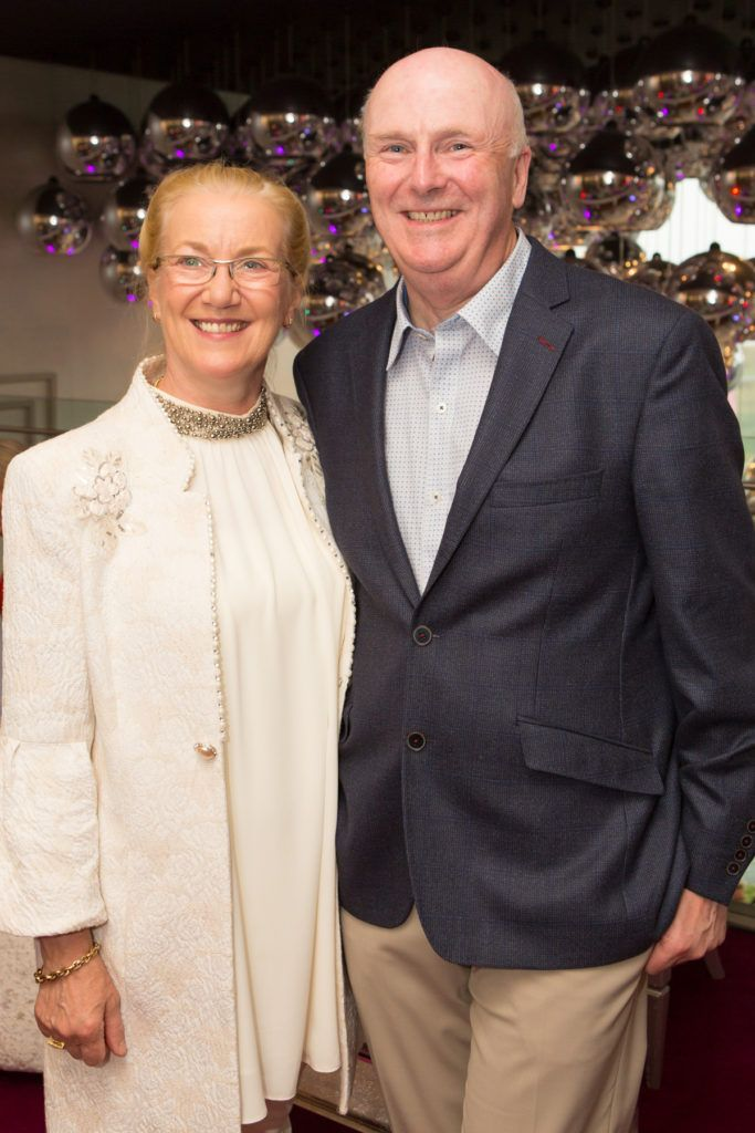 Geraldine and Denis Egan at the Ladies Day After Party in the g Hotel & Spa. Photo: Martina Regan