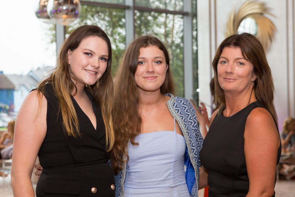 Leah McElroy, Niamh Carolan and Bernadette Carolan at the Ladies Day After Party in the g Hotel & Spa. Photo: Martina Regan