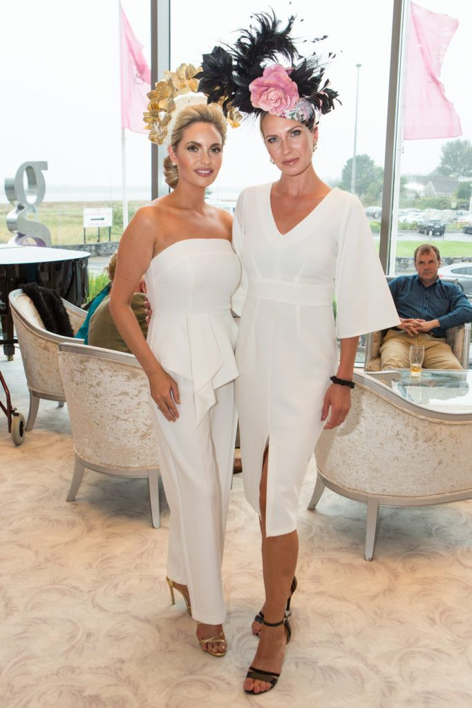 Pam Richardson and Kate Zienkiewicz at the Ladies Day After Party in the g Hotel & Spa. Photo: Martina Regan