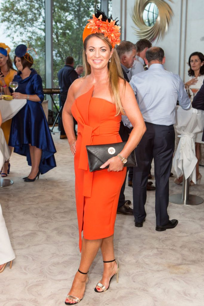 Dee Maddock at the Ladies Day After Party in the g Hotel & Spa. Photo: Martina Regan