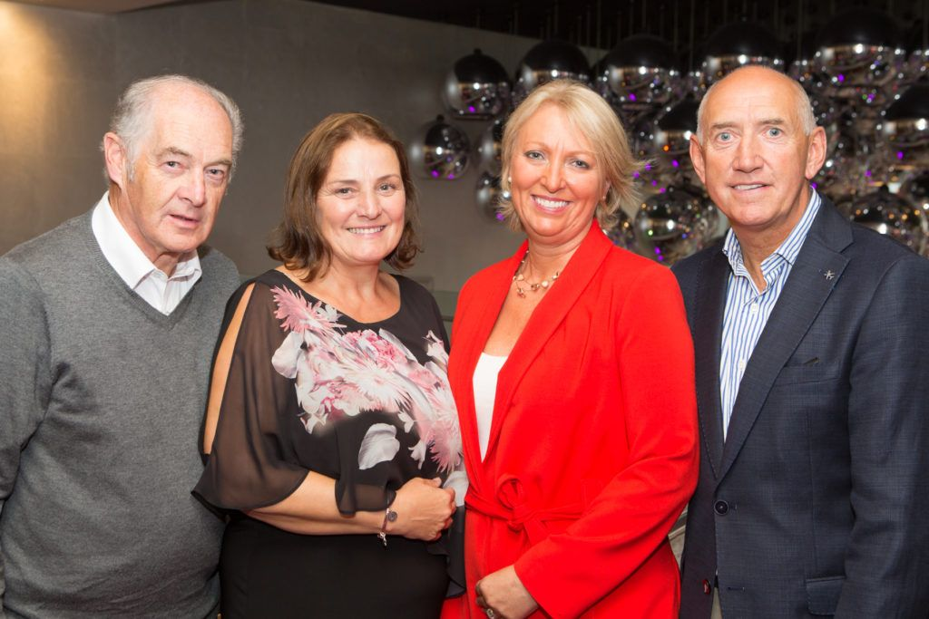 Dessie and Mary Scahill and AnneMarie and Brendan Sherican at the Ladies Day After Party in the g Hotel & Spa. Photo: Martina Regan