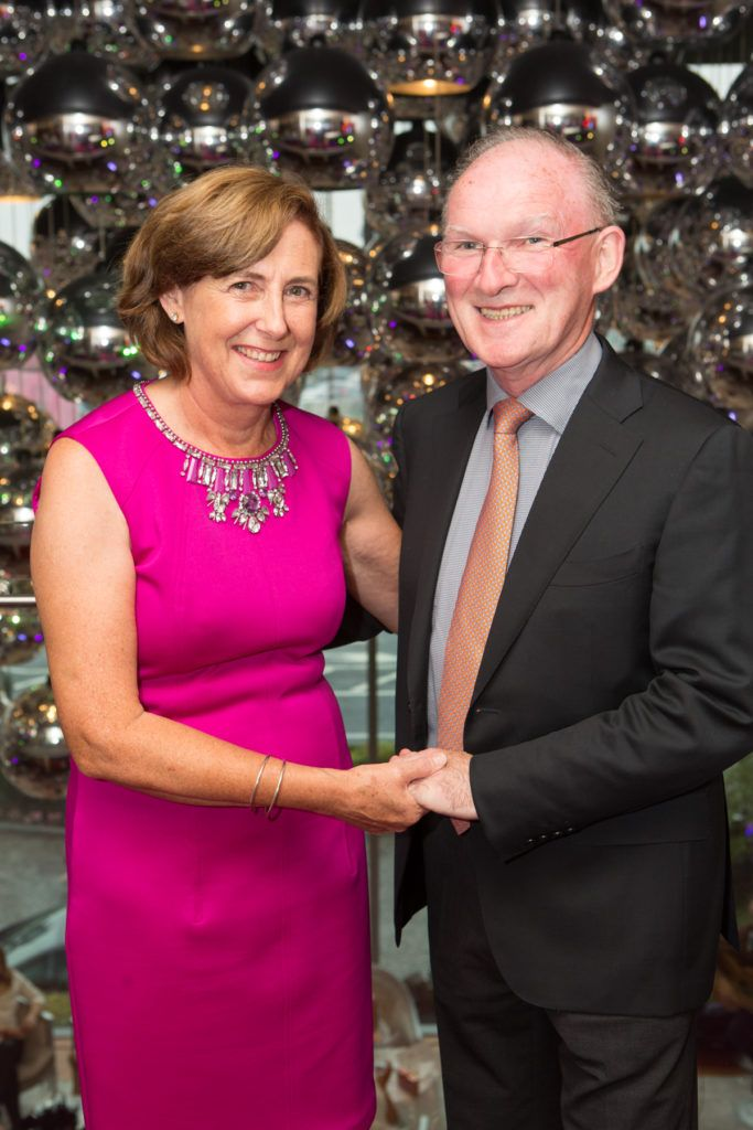 Anne and Dr. Adrian McGoldrick at the Ladies Day After Party in the g Hotel & Spa. Photo: Martina Regan