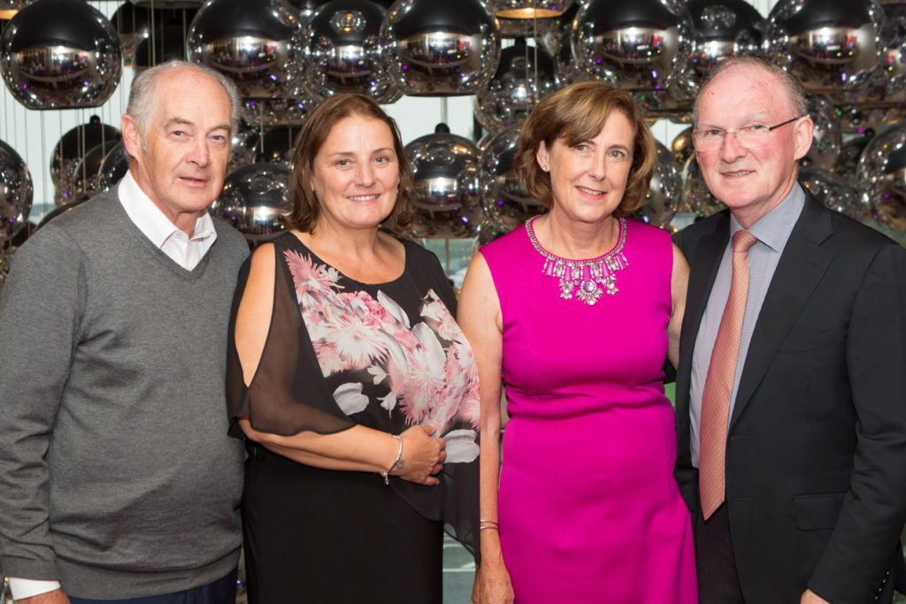 Dessie and Mary Scahill and Anne and Dr. Adrian McGoldrick at the Ladies Day After Party in the g Hotel & Spa. Photo: Martina Regan