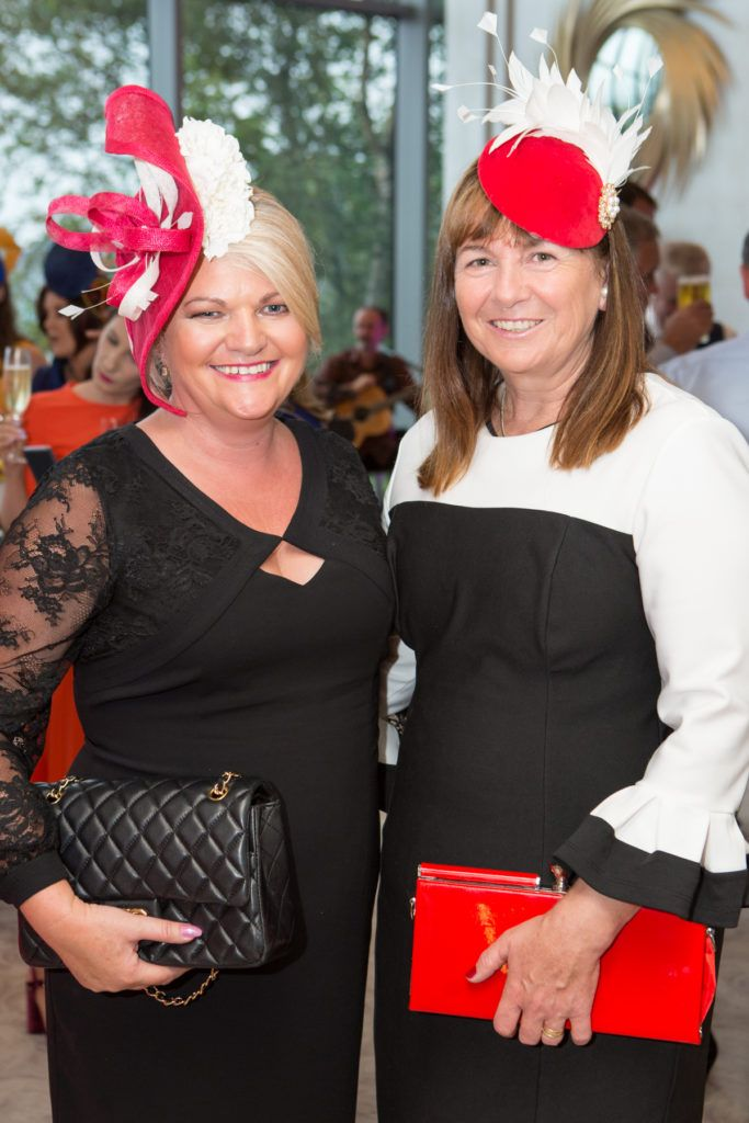 Colette O'Connor and Marie Reilly at the Ladies Day After Party in the g Hotel & Spa. Photo: Martina Regan