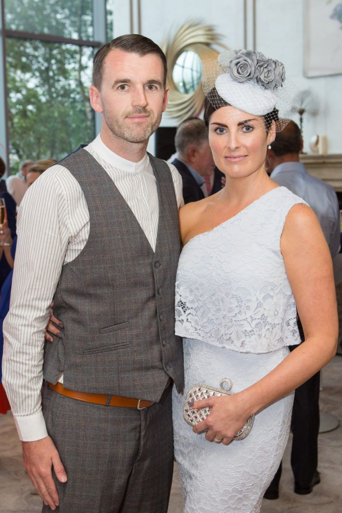 Dave and Sheila Reilly at the Ladies Day After Party in the g Hotel & Spa. Photo: Martina Regan