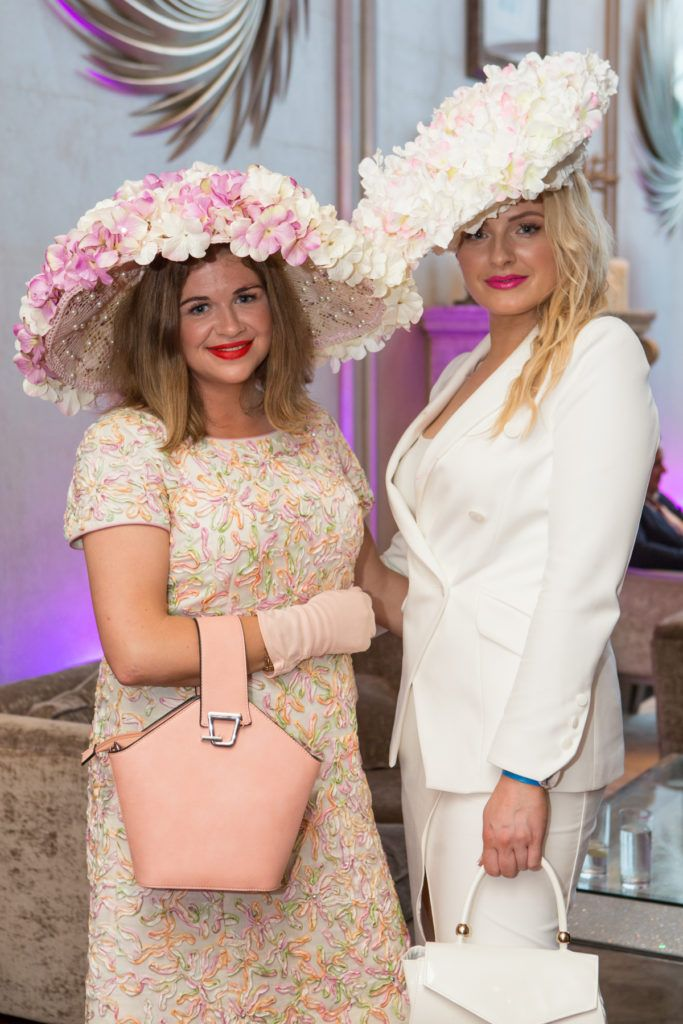 Táine King and Margaret O'Connor at the Ladies Day After Party in the g Hotel & Spa. Photo: Martina Regan