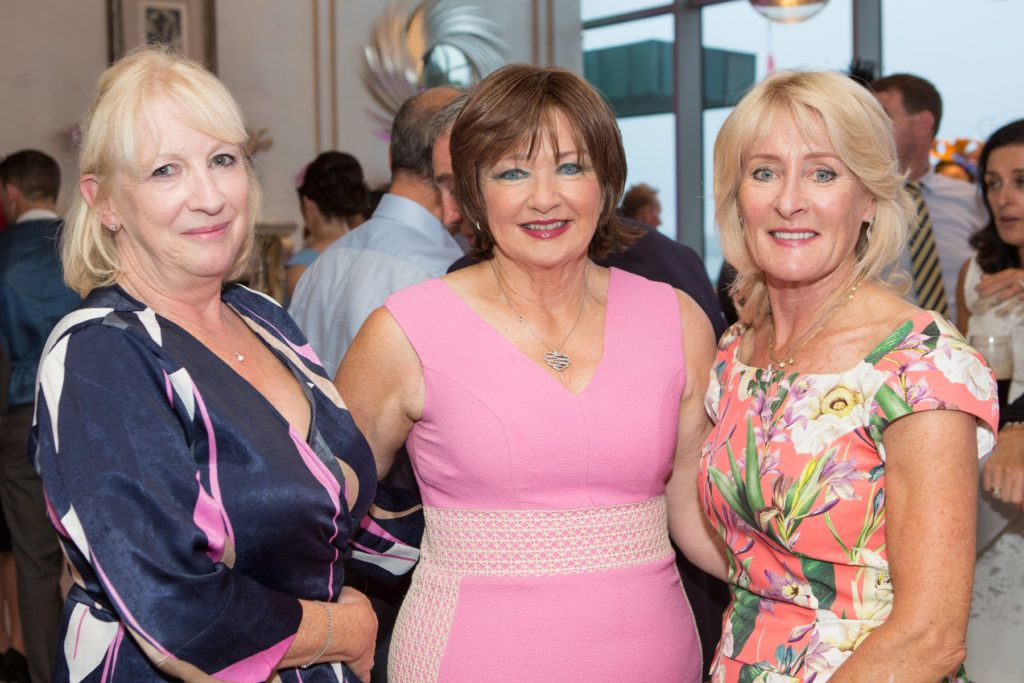 Geraldine Nolan, Kathleen Higgins and Maura Kiely at the Ladies Day After Party in the g Hotel & Spa. Photo: Martina Regan