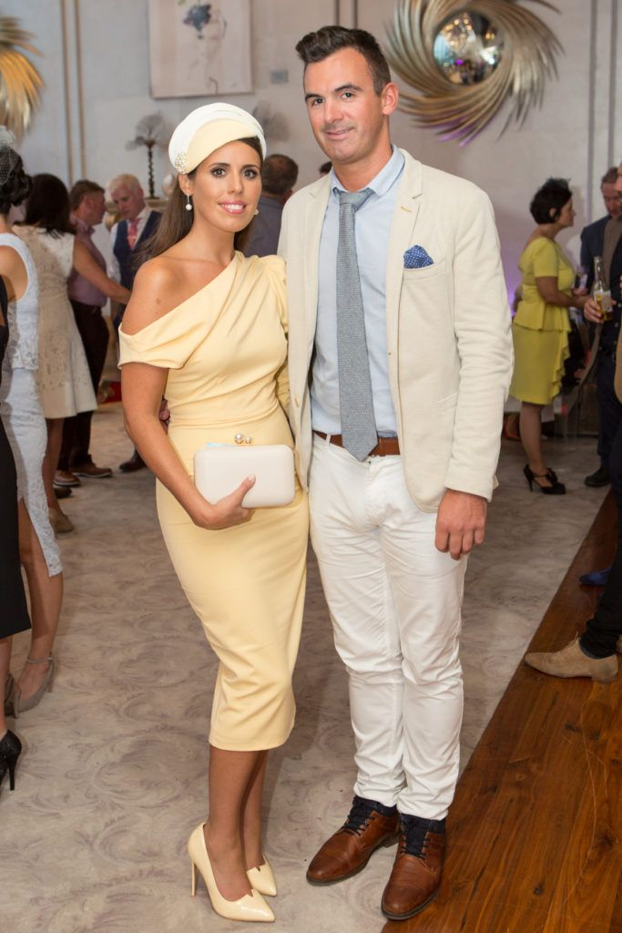 Colleen Brady and Ciaran Rafferty at the Ladies Day After Party in the g Hotel & Spa. Photo: Martina Regan