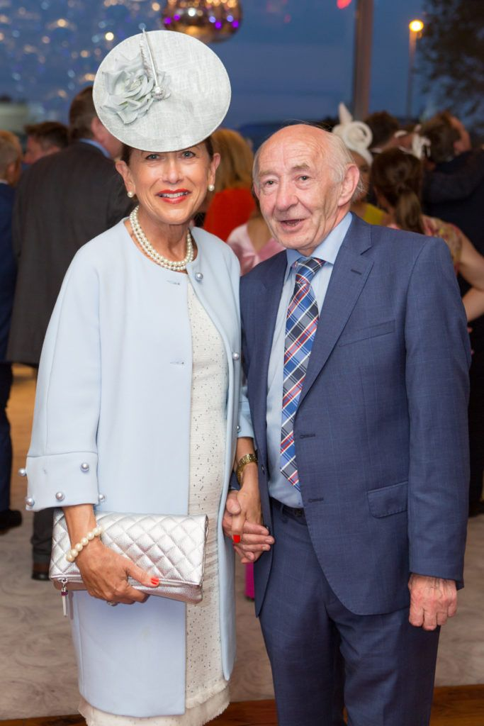 Liz Maher and John Kenna at the Ladies Day After Party in the g Hotel & Spa. Photo: Martina Regan