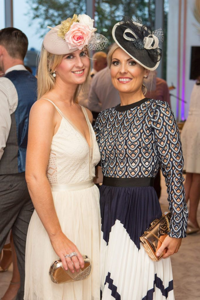 Gretta McGrath and Yvonne O'Shaughnessy at the Ladies Day After Party in the g Hotel & Spa. Photo: Martina Regan