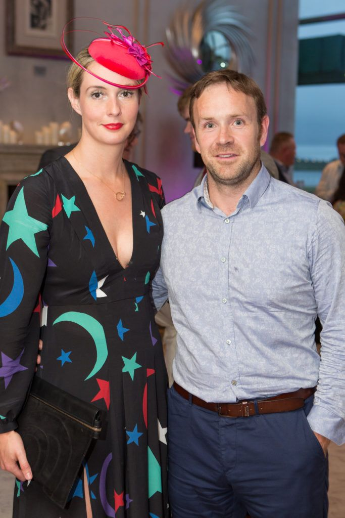 Claire and Seamus Tubridy at the Ladies Day After Party in the g Hotel & Spa. Photo: Martina Regan