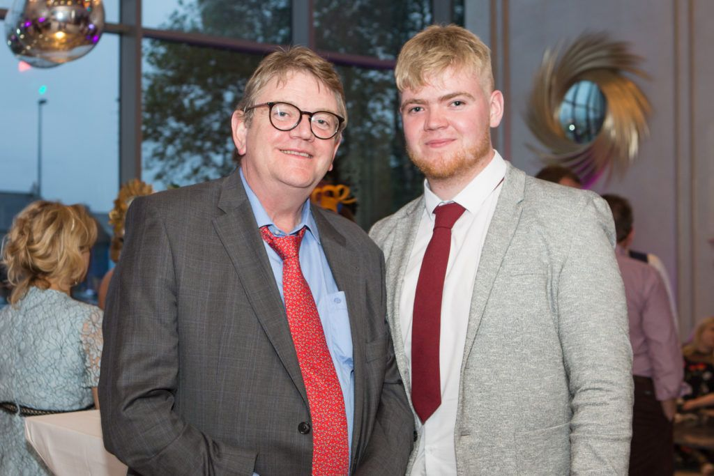 Anthony and Anton Kelly at the Ladies Day After Party in the g Hotel & Spa. Photo: Martina Regan