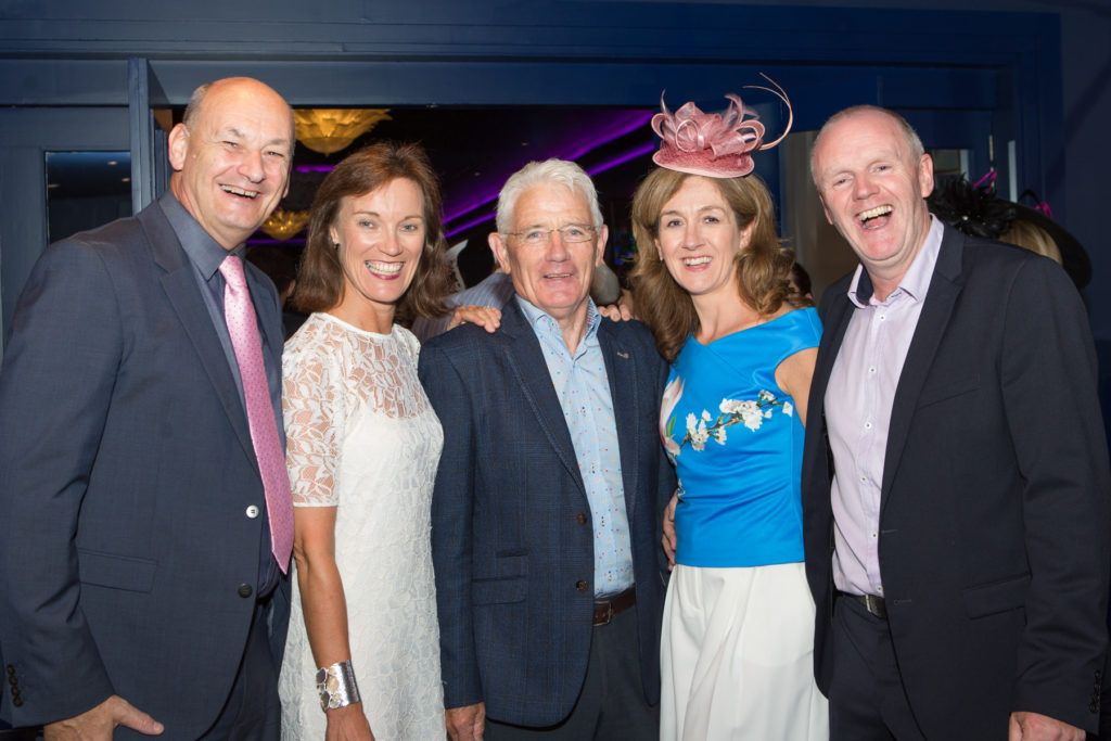 John and Maria Walsh, Pat Connolly, Margaret and Mike Finn at the Ladies Day After Party in the g Hotel & Spa. Photo: Martina Regan
