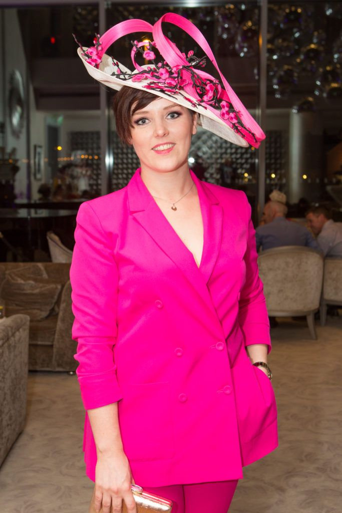 Sarah King at the Ladies Day After Party in the g Hotel & Spa. Photo: Martina Regan