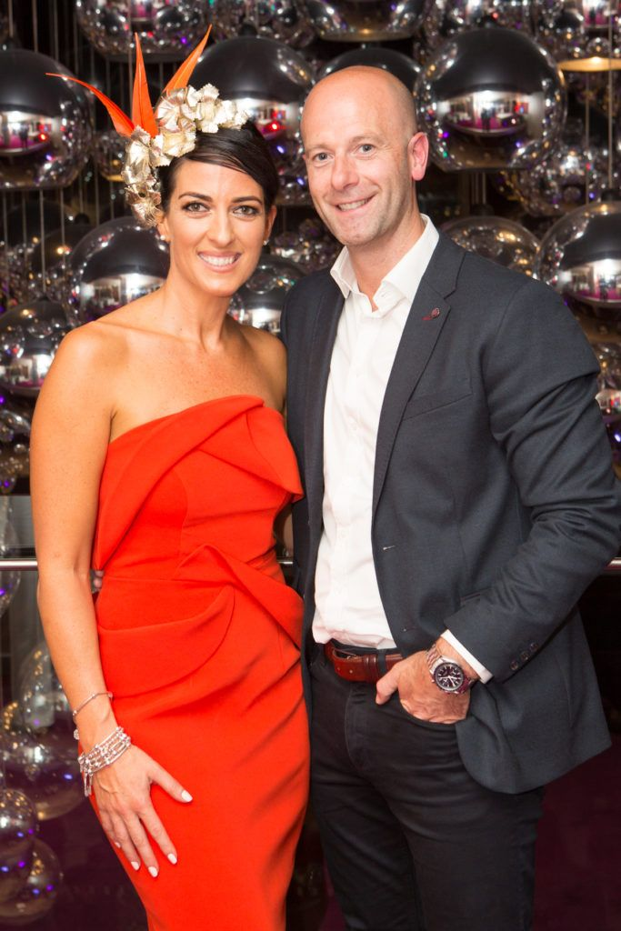 Lisa McGowan and Chris McManus at the Ladies Day After Party in the g Hotel & Spa. Photo: Martina Regan