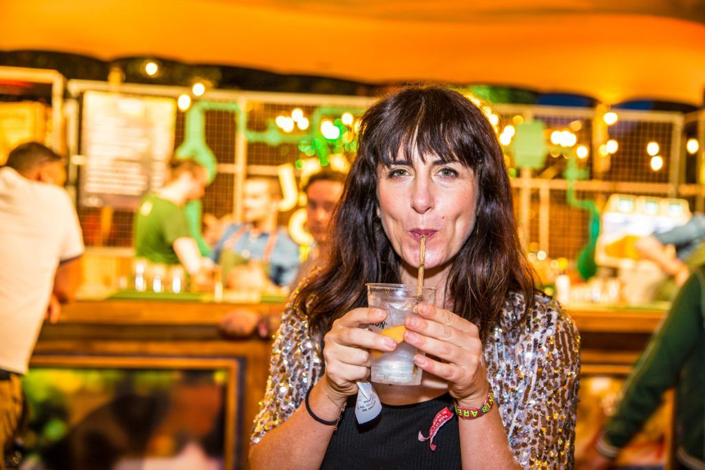 Pictured at The Jameson Bar at All together now Festival in Waterford over the Bank holiday weekend. Picture: Allen Kiely