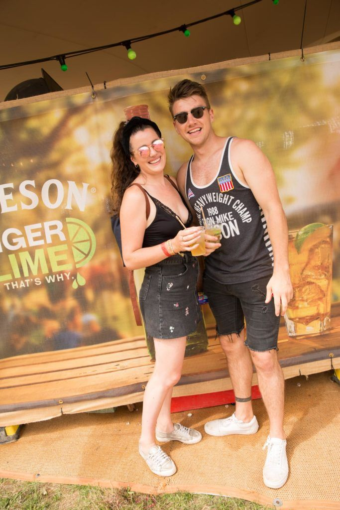 Pictured at The Jameson Bar pictured at The Jameson Bar at All together now Festival in Waterford over the Bank holiday weekend. Picture: Allen Kiely