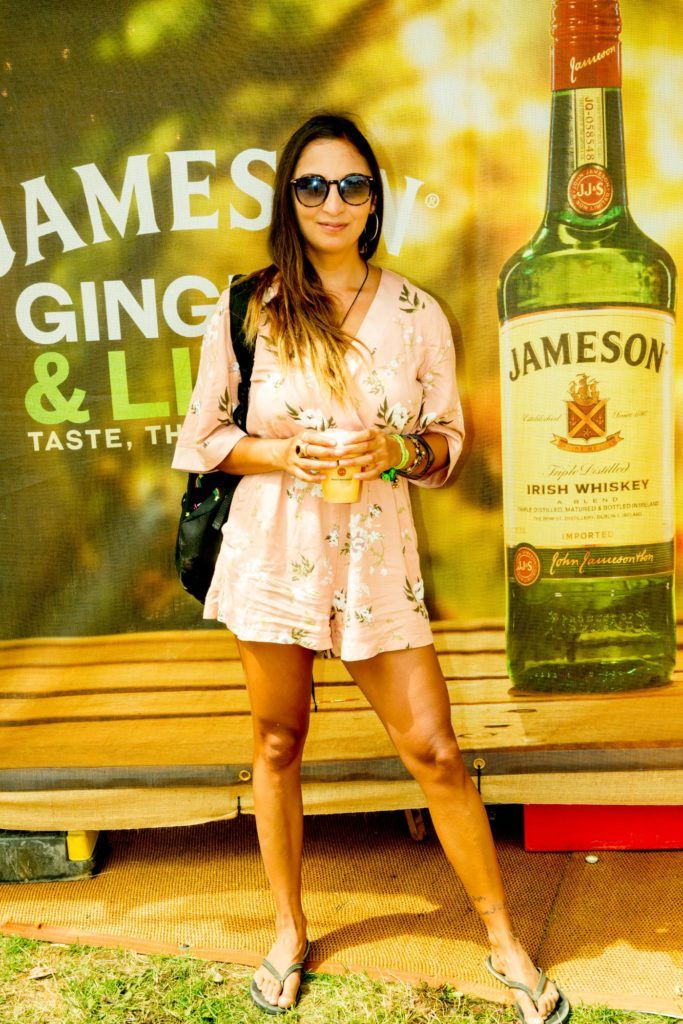 Jasmine Kahn pictured at The Jameson Bar at All together now Festival in Waterford over the Bank holiday weekend. Picture: Allen Kiely