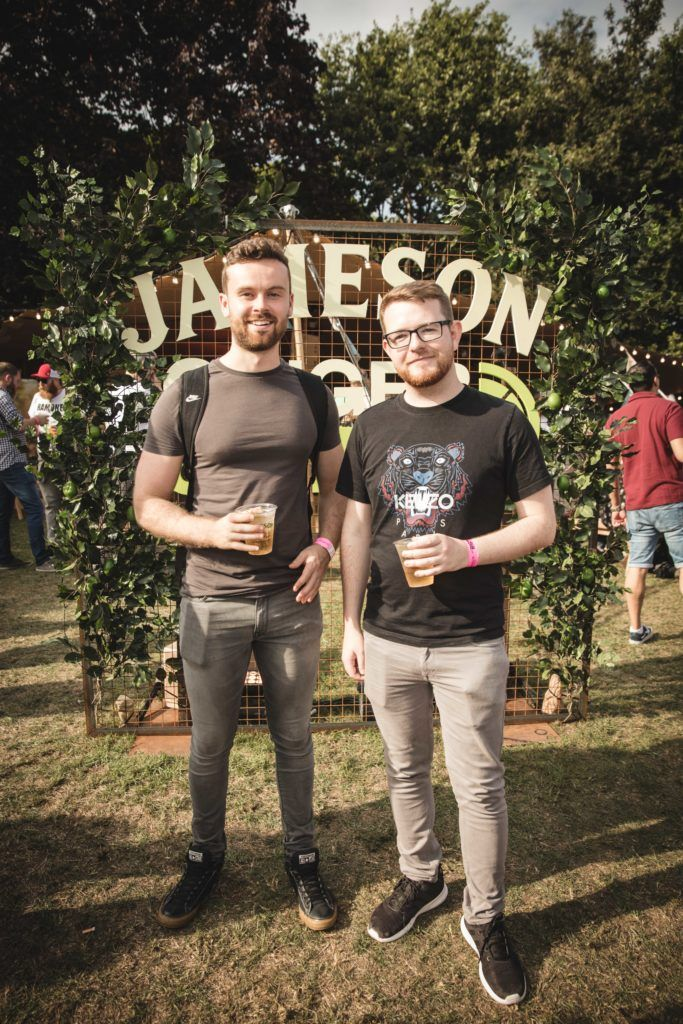 Pictured here is Adam Purser and Aaron Farrell at The Big Grill in partnership with Jameson Irish Whiskey. Picture: Derek Kennedy