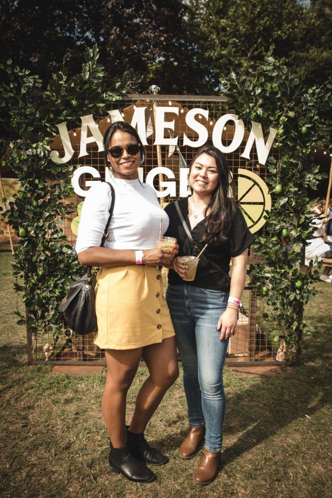 Pictured here is Claudia Honorio and Jackline Caliman at The Big Grill in partnership with Jameson Irish Whiskey. Picture: Derek Kennedy
