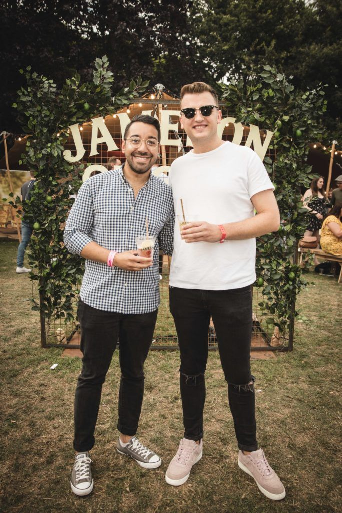 Pictured here is Leo Cruz and Andy Cowap at The Big Grill in partnership with Jameson Irish Whiskey. Picture: Derek Kennedy
