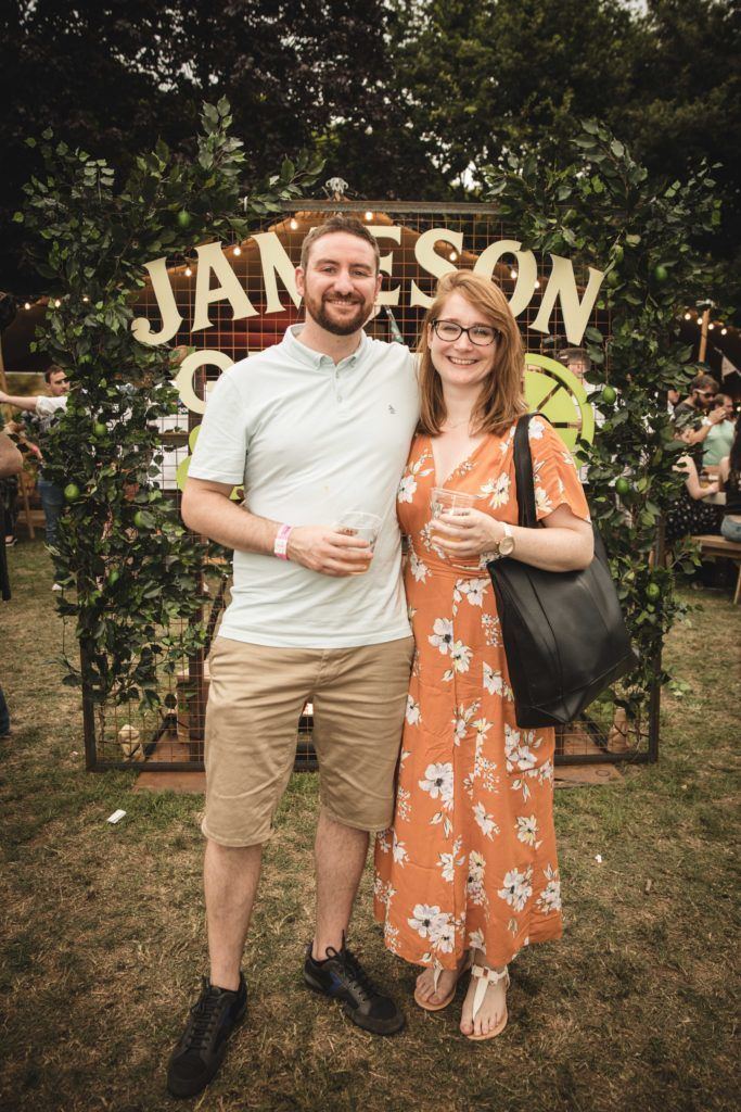 Pictured here is Jarlath McDonald and Nicola Kavanagh at The Big Grill in partnership with Jameson Irish Whiskey. Picture: Derek Kennedy