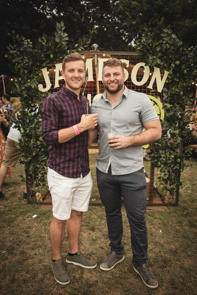 Pictured here is Robbie Pierse and Chris Best at The Big Grill in partnership with Jameson Irish Whiskey. Picture: Derek Kennedy