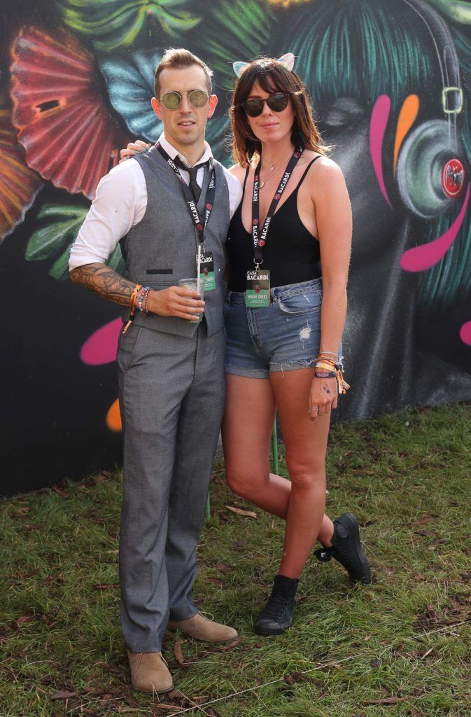 Luke O'Faolain and Sandra Kirrane pictured in the renowned Casa Bacardi on Day Two of Electric Picnic 2018. Pic: Robbie Reynolds