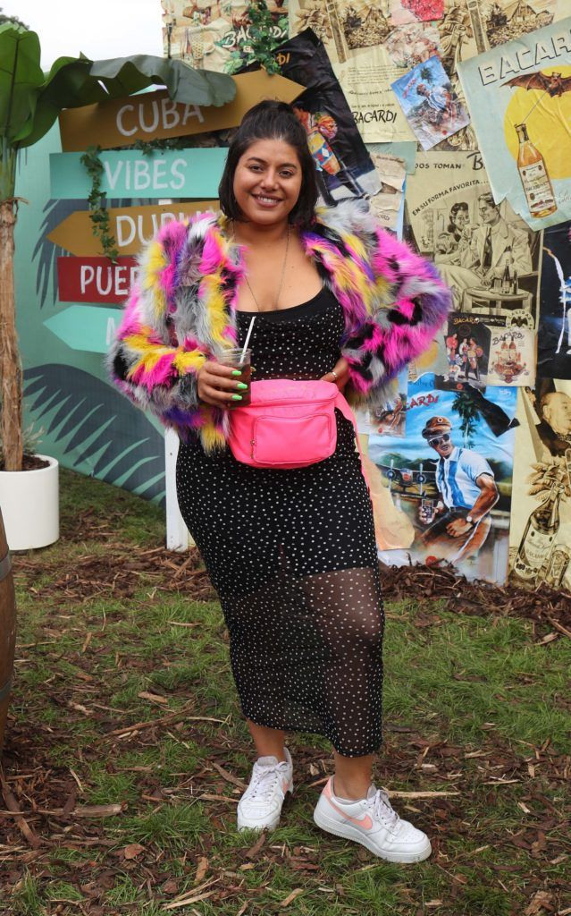 2FM DJ, Tara Stewart pictured in the renowned Casa Bacardi on Day Two of Electric Picnic 2018. Pic: Robbie Reynolds