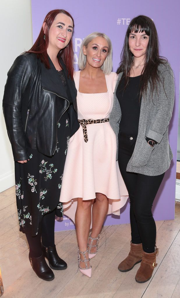 Pictured at the launch of Carter Beauty Cosmetics at the Morrison Hotel Dublin. Picture: Brian McEvoy