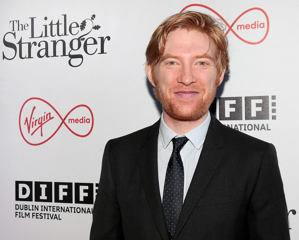 Domhnall Gleeson at the European premiere of The Little Stranger, presented in association with Pathe and the Virgin Media Dublin International Film Festival at the Lighthouse Cinema, Dublin. Photo: Brian McEvoy