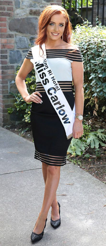 Miss Carlow Rachel Kelly  pictured at a special preview of the Miss Ireland 2018 finalists at the Bonnington Hotel, Dublin. Photo: Brian McEvoy