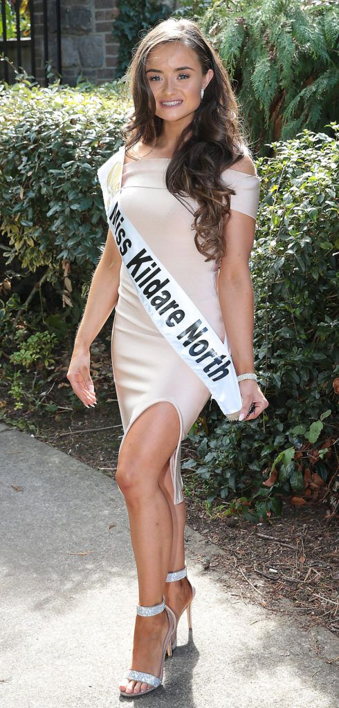 Miss Kildare North Kiki Nugent pictured at a special preview of the Miss Ireland 2018 finalists at the Bonnington Hotel, Dublin. Photo: Brian McEvoy
