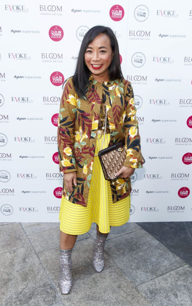 Ella de Guzman at Dublin Fashion 2018: The Collective. Showcasing the latest trends for the season ahead from leading stores across Dublin city centre. Picture Andres Poveda