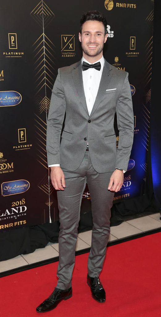 Darren King at the grand final of Miss Ireland 2018 in association with RNR Fits at the Helix Theatre, Dublin. Photo by Brian McEvoy