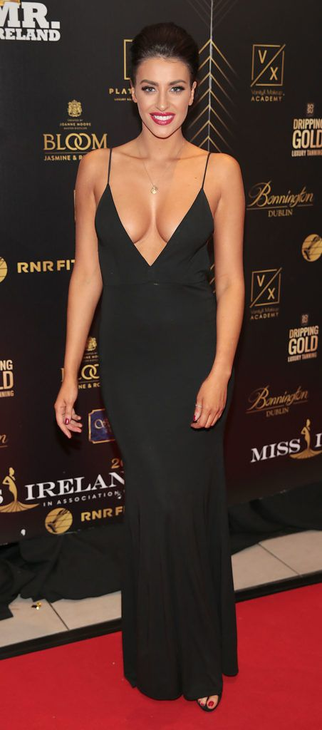 Carla Jackson at the grand final of Miss Ireland 2018 in association with RNR Fits at the Helix Theatre, Dublin. Photo by Brian McEvoy