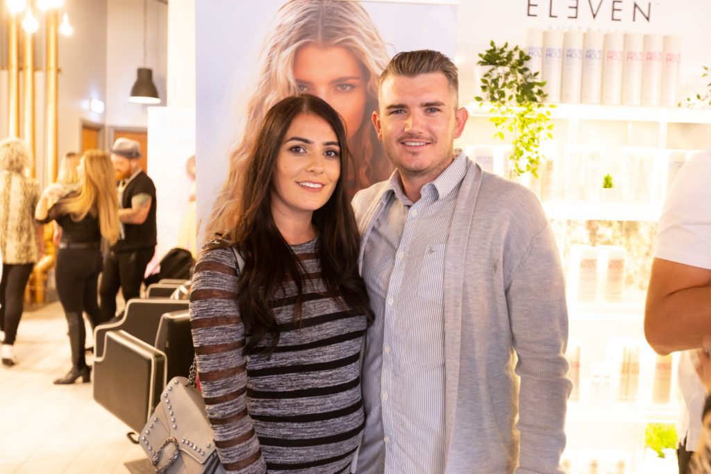 Pictured at the Eleven Australia industry launch in The Hair Cafe Smithfield. Photo: Peter Regazzoli