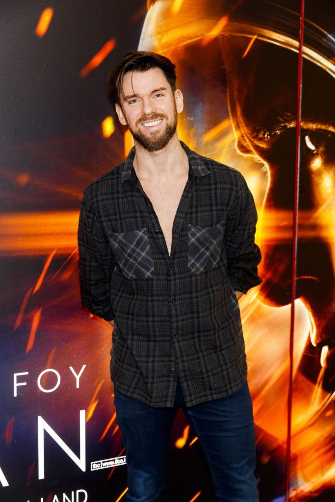 Eoghan McDermott pictured at an exclusive first look at up-coming feature film First Man at Dublin's Light House Cinema. Picture Andres Poveda