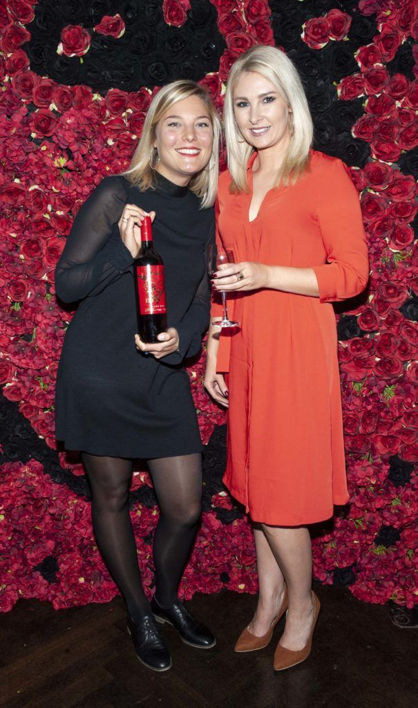 Pictured at the Diablo wine launch in Dublin's The Black Door. Photo: Patrick O'Leary