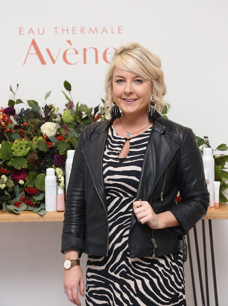 Rebecca Brady pictured at the Avene Radiance Skincare launch at Studio 10, Wicklow St (20/09/18). Photo: Karen Morgan