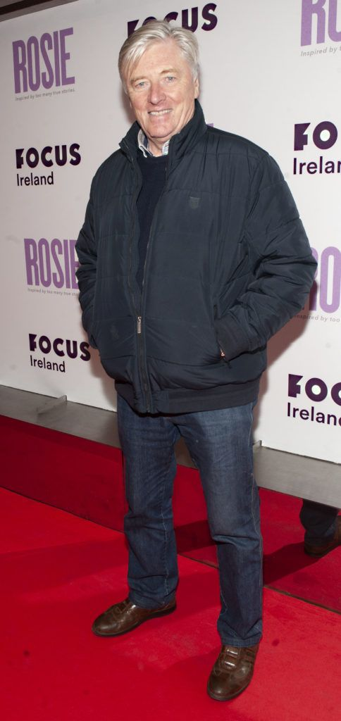 Pat Kenny pictured at the European premiere of 'Rosie' at the Light House Cinema, Dublin. Photo: Patrick O'Leary