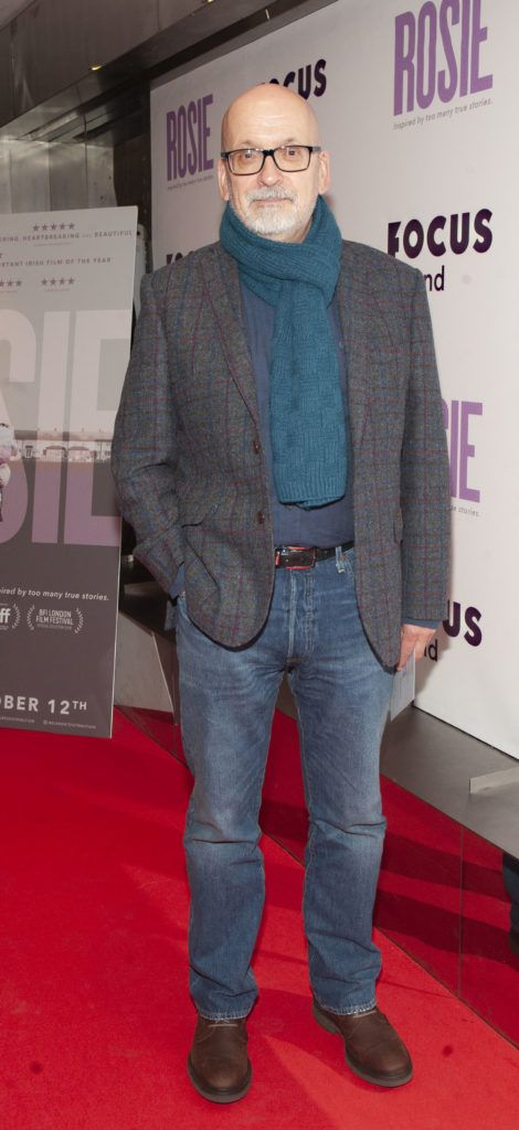Roddy Doyle pictured at the European premiere of 'Rosie' at the Light House Cinema, Dublin. Photo: Patrick O'Leary