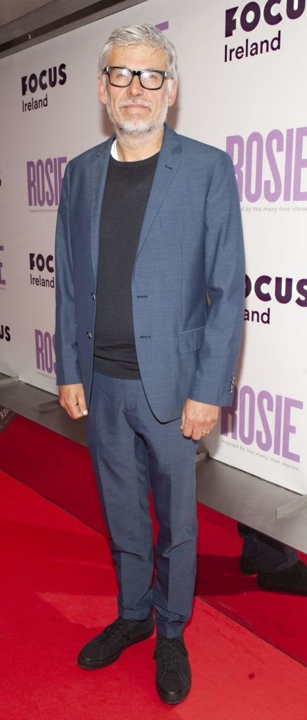 Director Paddy Breathnach pictured at the European premiere of 'Rosie' at the Light House Cinema, Dublin. Photo: Patrick O'Leary