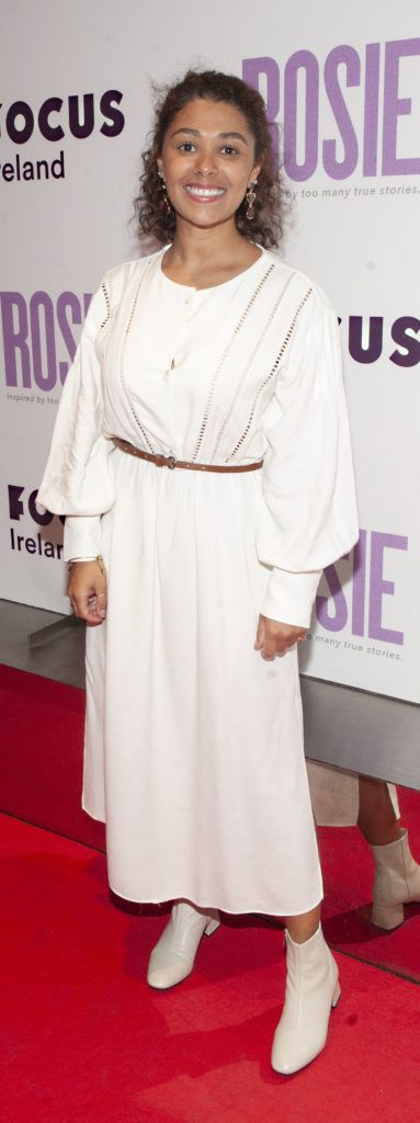 Jade Jordan pictured at the European premiere of 'Rosie' at the Light House Cinema, Dublin. Photo: Patrick O'Leary