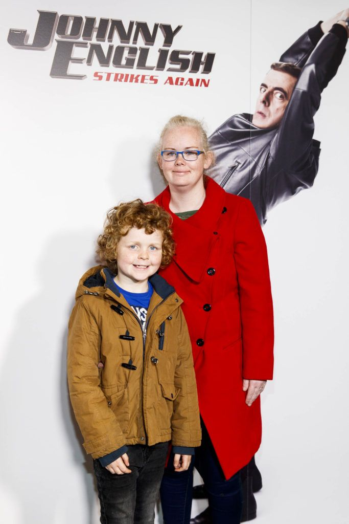 Louise Heflin from Clondalkin pictured at a special preview screening of Johnny English Strikes Again at ODEON Point Village, Dublin. Picture Andres Poveda
