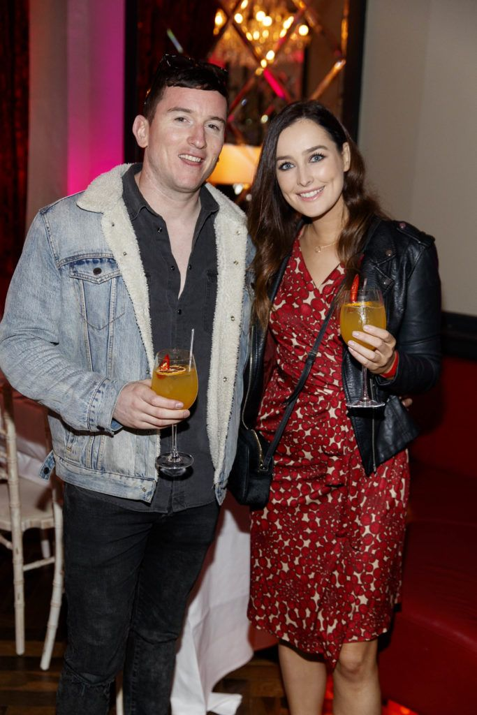 Evan Doherty and Rachel Purcell pictured at the official launch of DublinTown's inaugural Food & Drink Festival on October 1st 2018. Picture Andres Poveda