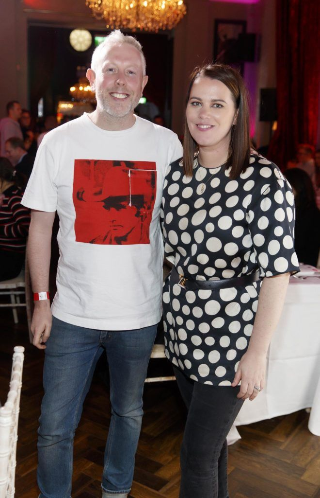 Anthony Remedy and Corina Gaffey pictured at the official launch of DublinTown's inaugural Food & Drink Festival on October 1st 2018. Picture Andres Poveda