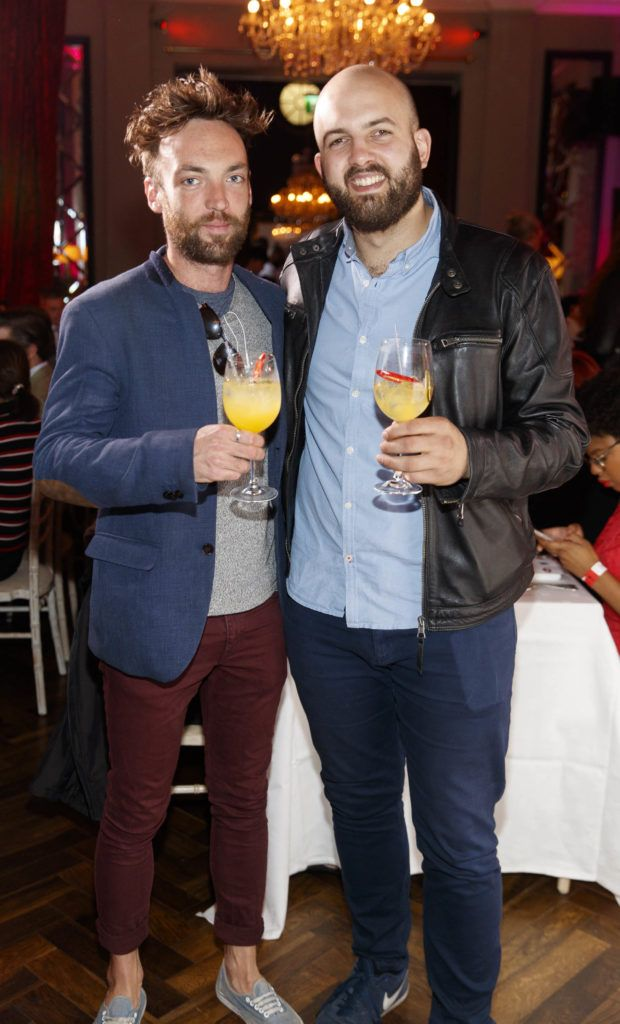 Rob Murphy and Calum Murray pictured at the official launch of DublinTown's inaugural Food & Drink Festival on October 1st 2018. Picture Andres Poveda