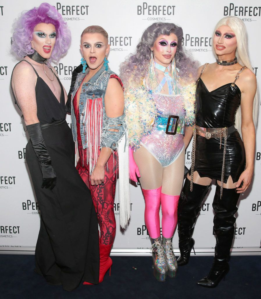 Pictured at launch of the BPerfect Cosmetics Born Ready Lip Kits in partnership with MUA Ellie Kelly at Twenty Two, Dublin. Photo: Brian McEvoy